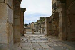 古老城市ephesus 免版税图库摄影