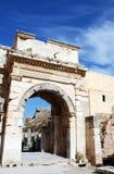 古老城市ephesus 库存图片