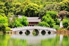 古老城市lijiang 免版税图库摄影
