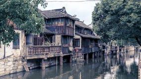 古老城镇 库存图片