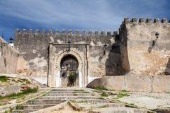 古老堡垒在麦地那 更加气味强烈的摩洛哥 图库摄影
