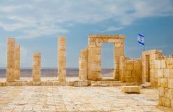 古老堡垒在Avdat 免版税图库摄影