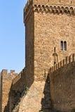 古老堡垒塔 免版税库存照片
