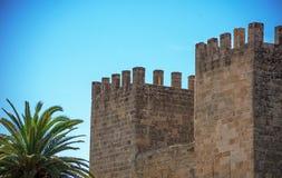 古老堡垒塔 免版税库存图片