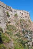 古老堡垒墙壁 意大利savona 免版税库存照片