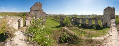 古老堡垒废墟 库存照片