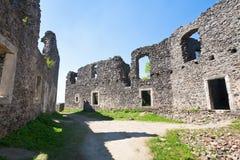 古老堡垒废墟 免版税图库摄影