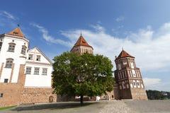 古老堡垒,白俄罗斯 库存照片
