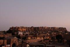 古老堡垒, Jaisalmer,印度 免版税库存图片
