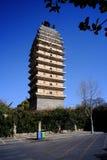 古老塔在亚洲 免版税库存照片