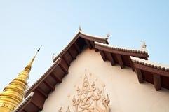 古老塔寺庙 免版税图库摄影