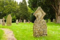 古老墓碑 库存图片