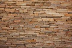 古老墙壁被修筑平的石头 图库摄影