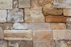 古老墙壁 背景 库存图片