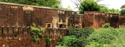 古老墙壁 库存图片