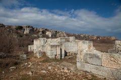 古老墙壁kamen briag 库存图片