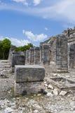 古老墨西哥废墟 免版税库存照片