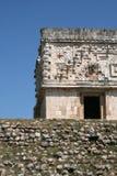古老墨西哥废墟 库存照片