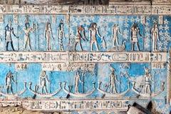 古老壁画在教会里 库存图片