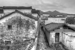 古老大厦在中国 免版税图库摄影