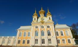 古老大厦在圣彼得堡,俄罗斯 库存图片