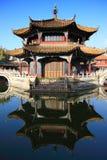 古老大厦汉语 图库摄影