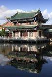 古老大厦汉语 免版税库存图片