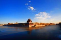 古老大厦汉语 库存照片