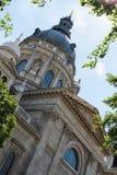 古老大教堂在布达佩斯 库存图片