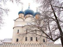 古老大教堂正统俄国 库存图片