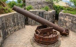 古老大炮 库存图片