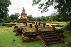 古老失去的市Wiang Kum Kam。 库存图片