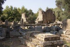 古老奥林匹亚 免版税库存图片