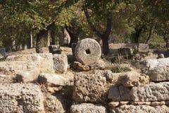 古老奥林匹亚 库存图片