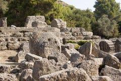 古老奥林匹亚 免版税库存照片