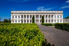 古老宫殿在乌克兰 库存照片