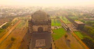 古老宫殿鸟瞰图在印度 股票视频