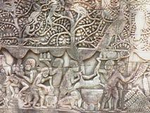 古老寺庙,柬埔寨。 库存图片