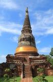 古老寺庙(Wat亚伊柴Mongkhol), Ayutthaya 库存照片