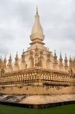 古老寺庙ventiane 图库摄影