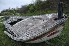 古老小船 库存图片