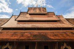 古老屋顶 库存照片