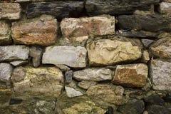 古老岩石墙壁 免版税库存图片