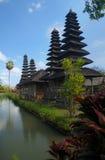 古老巴厘岛印度尼西亚寺庙 免版税库存图片