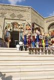 古老市场和城堡在阿尔贝拉,伊拉克 免版税库存图片