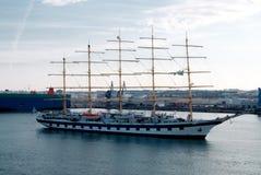 古老帆船 库存图片