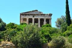 古老希腊废墟 图库摄影