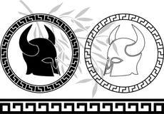 古老幻想盔甲 免版税库存图片