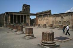 古老庞贝城 库存图片