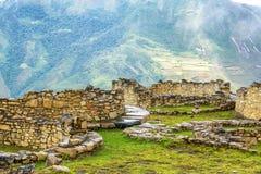 古老废墟和风景 库存图片